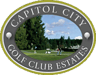The logo of the Capitol City Golf Club Estates